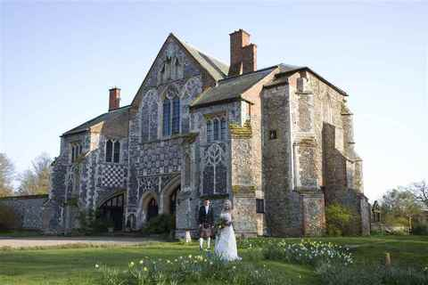 Wedding at Butley Priory