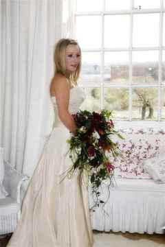 The Bride and her Bouquet, Butley Priory