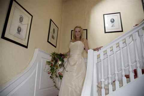 Bride on the Stairs, Butley Priory