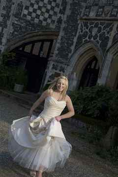 A Bride at Butley Priory