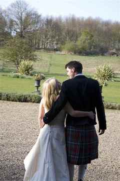 Bride and Groom, Butley Priory
