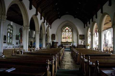 Aldeburgh Parish Church Interior